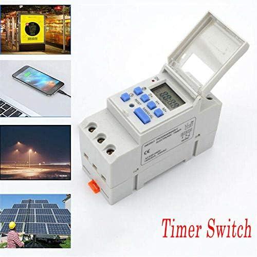THC15A 220V LCD Numérique Minuterie électrique Programmable Interrupteur Horaire