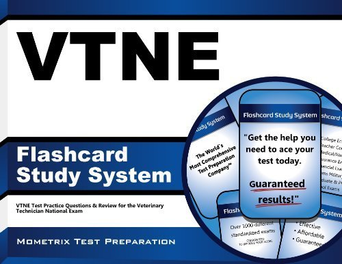 VTNE Flashcard Study System: VTNE Test Practice Questions & Review for the Veterinary Technician National Exam (Cards) 1 Flc Crds edition by VTNE Exam Secrets Test Prep Team (2013) Cards
