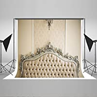 Kate Photo Backdrop 10x6.5ft Bed Headboard Cotton No Crease Backdrop Bedroom Wallpaper Background 02147
