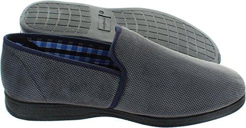 Goodyear - Zapatillas de estar por casa para hombre gris