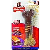 Nylabone Flavor Frenzy Wolf Dura Chew Cheesesteak Flavored Bone Dog Chew Toy