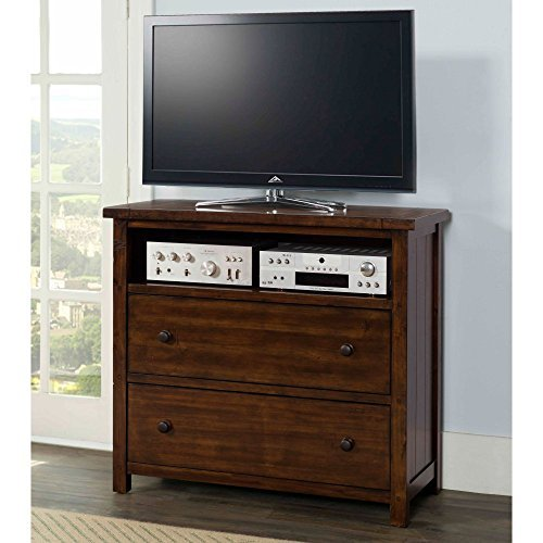 Picket House Furnishings Danner Media Chest in Chestnut by Picket House Furnishings