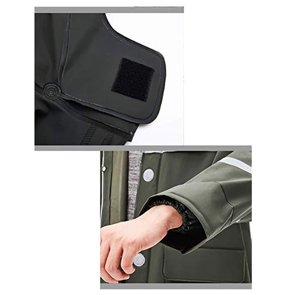LCPG Impermeable Impermeable Chaqueta para la Lluvia y Pantalones ...