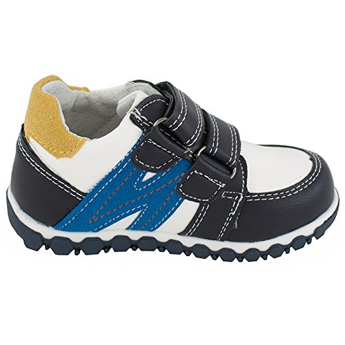 Wojtyłko Jungen Schuhe mit Klettverschluss für Wanderungen Sportschuhe (1078) Gelb