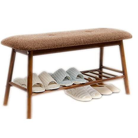 Magnificent Amazon Com Shoes Bench Shoe Rack Wooden Shoe Storage Bench Machost Co Dining Chair Design Ideas Machostcouk