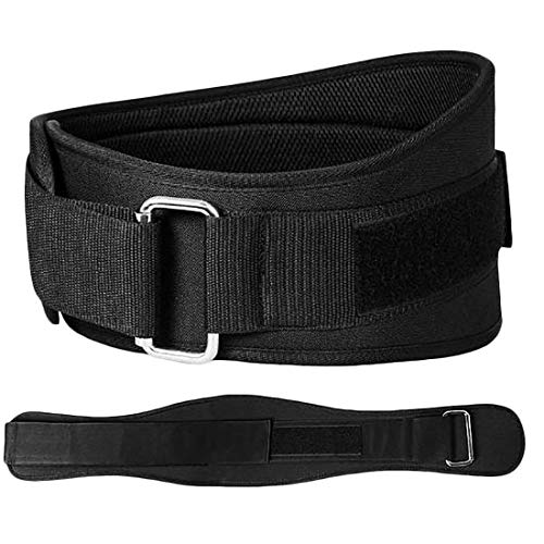 Price comparison product image TOOGOO Weight Lifting Belt - Back Support Weightlifting Belt for Powerlifting,  Squats,  Weight Training - Lower Profile Gym Belt for Men and Women