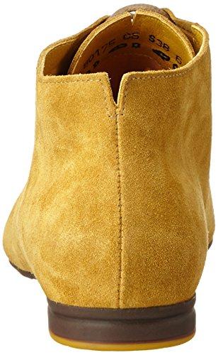 Think Gaudi, Zapatos de Cordones Mujer Derby para Mujer Cordones Amarillo kurkuma af8430