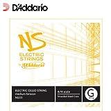 D'Addario NS Electric Cello Single G String, 4/4 Scale, Medium Tension