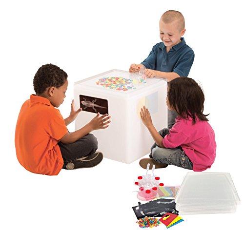 - Roylco Educational Light Cube Accessory Kit, Glowing Light Table Starter Kit for Classroom