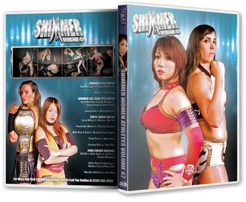 Shimmer Wrestling - Women Athletes Vol 42 DVD