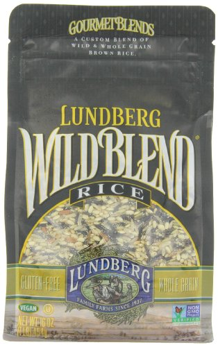 Lundberg Family Farms Wild Blend Rice, 16 Ounce (Pack of 6)