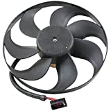TOPAZ 6X0959455F Left Engine Auxiliary Cooling Fan Motor for Volkswagen Golf Jetta Audi TT