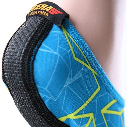 Nbera Sneldrogend Lichtgewicht Waterhuid Laag Uitgesneden Schoenen Ias018-geel Blauw