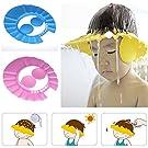 Adjustable Baby Kid Shampoo Shower Bathing Bath Protect Ear Wash Hair Cap Hat Gg Color Pink