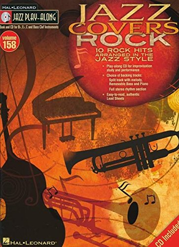 Jazz Covers Rock - Jazz Play-Along Volume 158 (Cd/Pkg) (Hal Leonard Jazz (Pkg Rock)