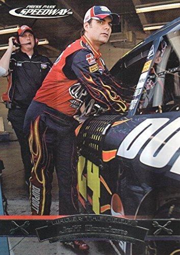 2008 Press Pass Speedway NASCAR Racing #73 Jeff Gordon Under The Hood