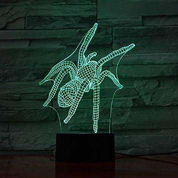 Lámpara de Mesa de Color Insecto Regalo de luz Nocturna para niños ...