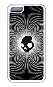 APPLE iPhone 5C Case - F Skull Cool Retro Customize iPhone 5C Cover White