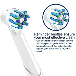 ITECHNIK 16Pack Cross Action Replacement Brush Heads for Braun Oral B Electric Toothbrushes, Fit PRO 500, 1000, 3000, 5000, 6000, 7000, 8000, Vitality & More!