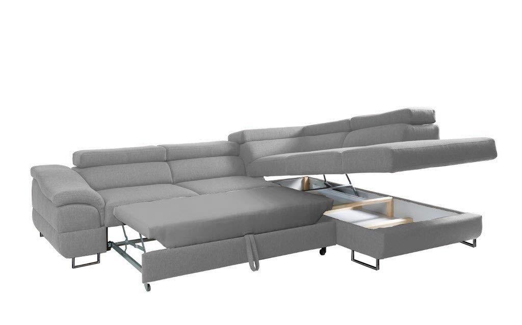 Amazon.com: EQsalon LAGOZZO Modern L-Shaped Sectional Corner ...