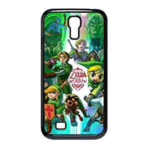 Legend of Zelda 001 Samsung Galaxy S4 9500 Cell Phone Case Blackpxf005-3743780