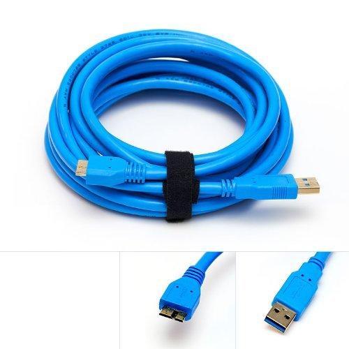 USB 3.0 Tether Cable 15ft 15 Tether Tethered Photography Tools Cable for Nikon D850 D800 D800E D810 D500 D5 /& Canon 5Ds 5Ds R 1Dx MK II 7D Mark II 5D Mark IV Blue Nine Volt 081159079765