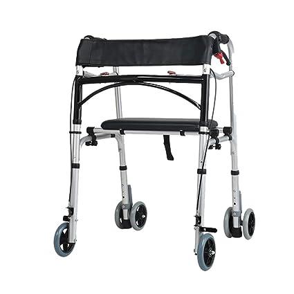 Accesorios para andadores con ruedas Walker Cuatro Patas Walker Coche discapacitados barandillas Inferior Miembro Entrenamiento andando