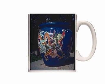 Scènes Rase Huaching Dragon Mug Porcelaine 085059 Anglaise En Motif N80PwyvmnO