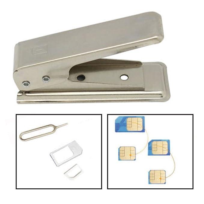 NANO tarjeta SIM cortador para plena o micro SIM-Tarjetas ...