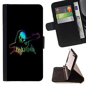 For Sony Xperia Z2 D6502 Case , Ladrillo Bazooka- la tarjeta de Crédito Slots PU Funda de cuero Monedero caso cubierta de piel
