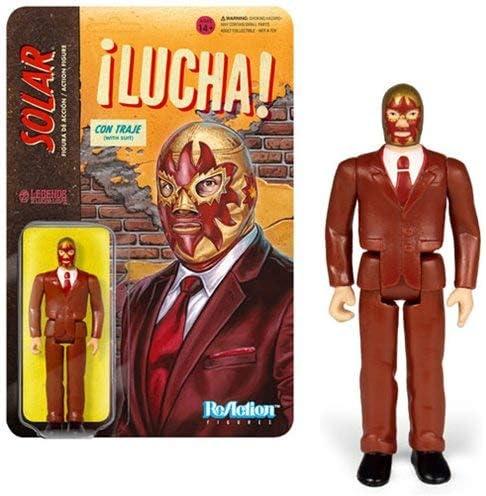 Amazon.com: Legends of Lucha Libre Solar in Suit Reaction ...