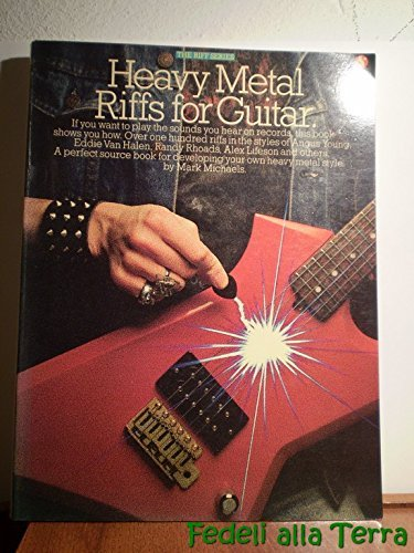 Heavy Metal Riffs For Guitar: The Riff Series: Amazon.es ...