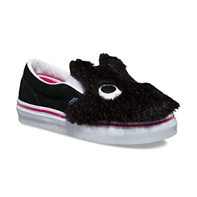 b5f0b0953a Image Unavailable. Image not available for. Color  Vans Slip On Friend (Party  Fur) Kids ...
