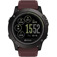 wsloftyGYd Zeblaze VIBE3 HR - Reloj inteligente para Android y iOS (resistente al agua), Rojo, 1