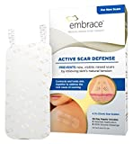 Embrace Active Scar Defense Silicone Scar Sheets For New Scar Treatment, Large (4.7''), 3 ct., 30 Day Supply