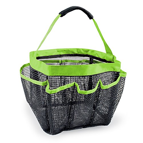 Shower Caddy Portable Bathroom Hanging Mesh Bag Storage Bag - 6