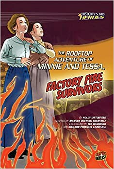 Book The Rooftop Adventure of Minnie and Tessa, Factory Fire Survivors (History's Kid Heroes)