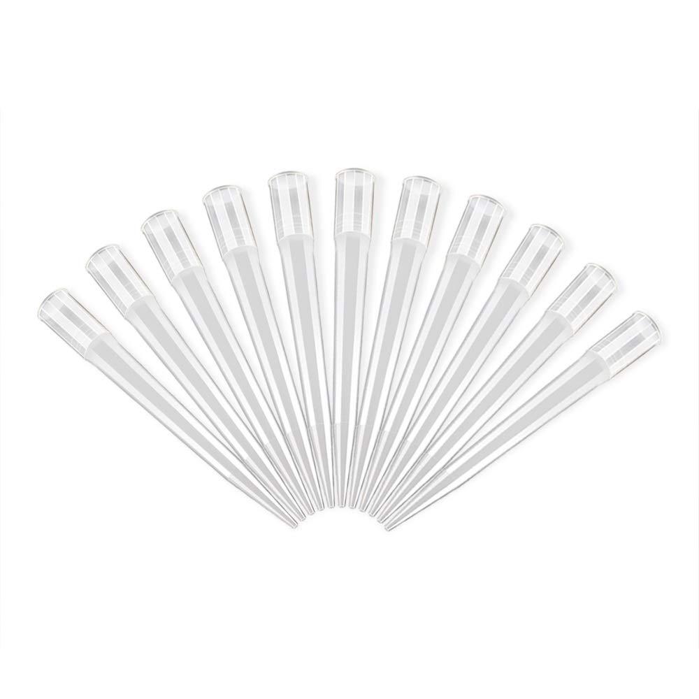 FOUR E' S SCIENTIFIC Laboratory Universal Pipette Tips, Microchemical Disposable Clear Liquid Pipet Pipettor Tips 1-10mL, Pack of 20 FOUR E' S SCIENTIFIC