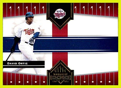2005 Donruss Champions #433 David Ortiz MINNESOTA TWINS Big Papi currently with BOSTON RED SOX