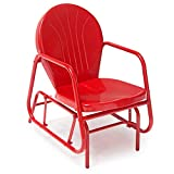 Coral Coast Vintage Retro Outdoor Glider Chair