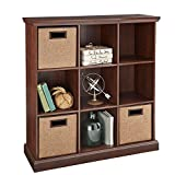 ClosetMaid 37 in. x 39 in. Mahogany 9-Cube Organizer