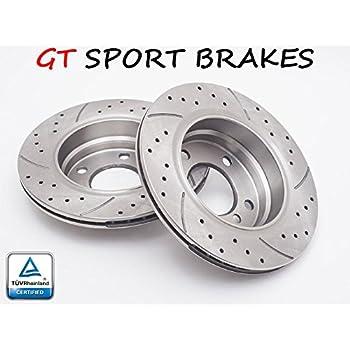 GT SPORT BRAKE DISCS GT1639 OPEL ASTRA 2004 2005 2006 2007 2008 2009 2010- FRONT 280 MM
