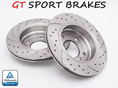 Price comparison product image GT SPORT BRAKE DISCS GT1758 DACIA DUSTER 2010 2011 2012 2013 2014 2015 2016 2017 2018 FRONT 280 MM