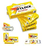 100-7-Oclock-SharpEdge-Superior-Premium-Platinum-Double-Edge-Safety-Razor-Blades-200-shaves