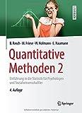 Quantitative Methoden 2, Björn Rasch and Bjö Rasch, 3662435470