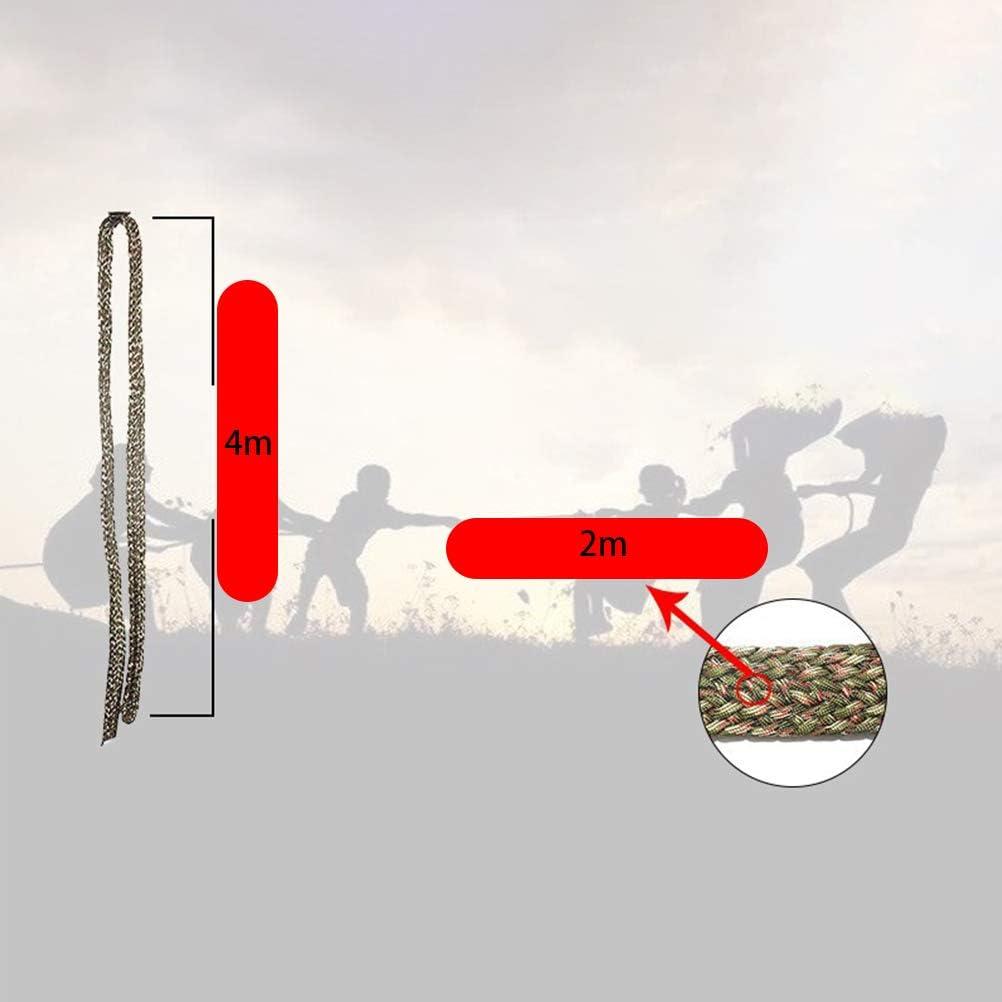 Milit/ärische Gr/üne Tarnung 250 sterline EisEyen Paracord Belt Nylon Outer for Handwoven Camping Hiking Rope