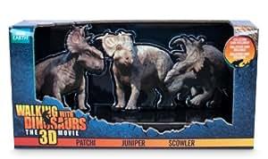 "Walking with Dinosaurs -""Caminando con dinosaurios"": V1 Patchi, Parksosaurus, Juniper (Giochi Preziosi 50706)"