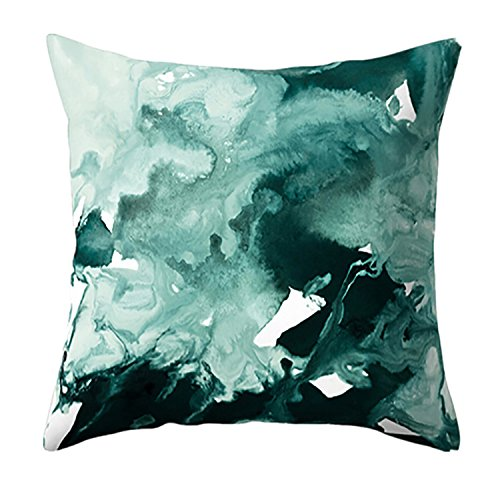 Boomboom Pillow Cases, Soft Geometric Marble Texture Throw Pillowcase Cushion Cases ()