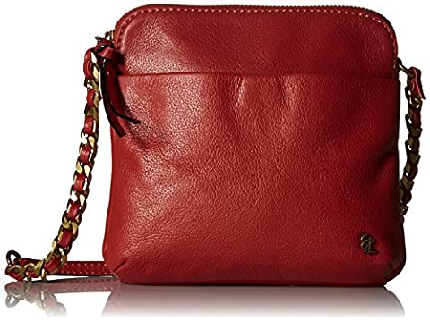 Elliott Lucca Zoe Camera Bag, Brick Devi - Elliott Lucca Leather Shoulder Bag