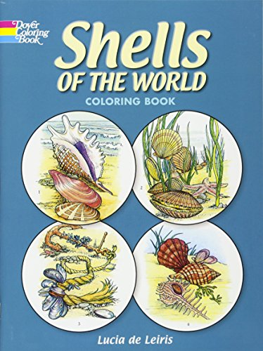 Shells of the World Coloring Book (Dover Nature Coloring Book) (Best Seashell Beaches On The East Coast)